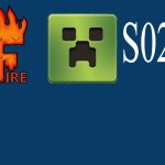 FrostFire Minecraft – S02E15 – RedSkyFire Building the House and Moving Supplies
