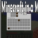 Minecraft in a Minute – E02 – HOW TO Make Sticks