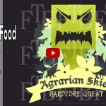 FTB Agrarian Skies – S01E02 – HOW Not to Die! Gathering Food – #FrostFire