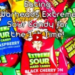 Eating Warheads Extreme Sour Candy for the First Time E01