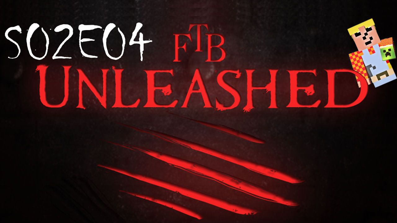 Feed The Beast (FTB) Unleashed - S02E04 - Pulverizer, Stirling Engine