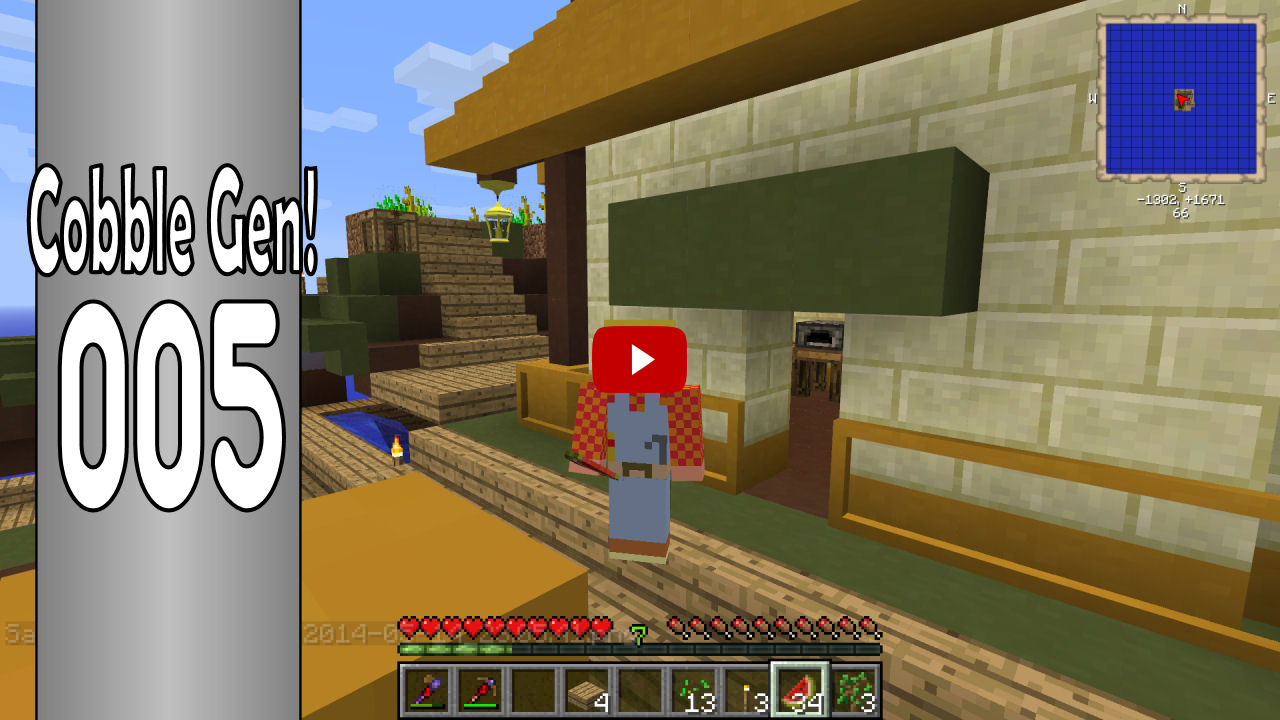 FTB Agrarian Skies - S01E05 - HOW TO Make a Sifter, Lava & Cobblestone